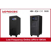 60-65dB Noise Low Frequency Online UPS with UPS Power System , Industrial Process Control Manufactures