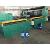 5kw Automatic Wrapped Edge Gabion Machine Edge Wrapping Machine 4 Meter Manufactures