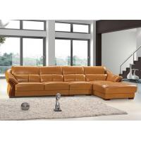Living Room Fabric Match Leather Sofa Manufactures