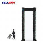 Multi Zone Door Frame Metal Detector Waterproof Audible And Volume Adjustable Manufactures