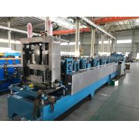 16 - 18 Stations CZ Purlin Roll Forming Machine With Hydraulic Cutting / Punching Manufactures