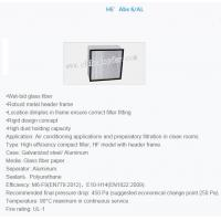 Quality Compact filter high efficiency for sale