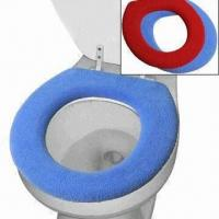 China Knitted Toilet Seat Cover, Made of 90% Acrylic and 10% Polyester on sale