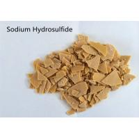 China Yellow Flake Catalyst Intermediate Additives Sodium Hydrosulfide 70% on sale
