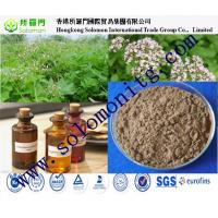 China valerian root extract valeric acid dark brown fine powder- Valeriana officinalis on sale