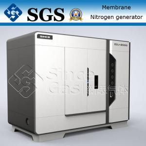 SINCE GAS Nitrogen Membrane Unit / Membrane Type Nitrogen Generator Plant Manufactures