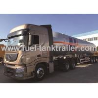 China Inline Six Cylinder 560 Hp Power LPG Tank Trailer 61.9CBM Available Capacity on sale