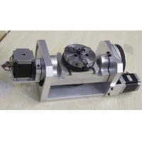 K01-100mm Chuck CNC 4th Axis / 5th Axis CNC Dividing Head for CNC Router Manufactures