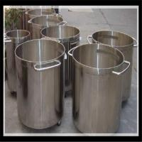 High Quallity Sanitary Food grade stainless steel oil storage tank Manufactures