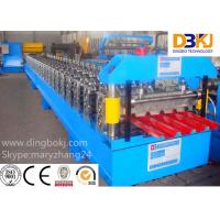 PLC Control System Roof Sheet Making Machine Corrugated Iron Rolling Machine Manufactures