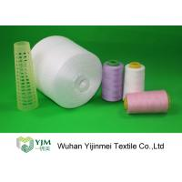 Z Twist / S Twist Polyester Sewing Thread , Customized Color Ne 20s to Ne 60s Manufactures