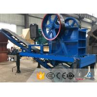 Diesel Engine Mobile Stone Crusher Plant High Capacity Mining Jaw Crusher for sale