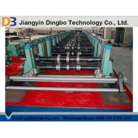 80mm Shaft Rack Shelf Cold Roll Forming Machine with Cr 12 Quenched Cutter Manufactures