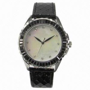 China Jewelry watch with Japanese quartz analog movement on sale