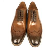 China Burnished leather lace up mens dress formal shoes , oxford leather shoes on sale