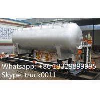 best price20ton Skid Filling Plant With LPG Storage Tank for Camp Cylinder,Kitchen Cylinder,Industrail Cylinder for sale Manufactures