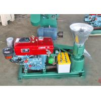 Home Flat Die Diesel Pelletizer Wood Pellet Press Machine with Diesel Engine Manufactures