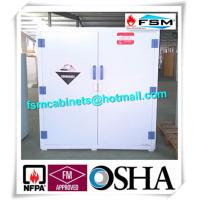 PP Safety Hazardous Storage Cabinets For Acid Corrosive Chemical Liquid Manufactures