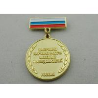 High 3D and High Polishing Brass Stamping Brooch, Custom Awards Medals with Soft Enamel Manufactures