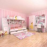 China E0 Grade Children's Bunk Bed Furniture, Home Product, Princess, Disney, Ladder Chest, Bed Chest on sale