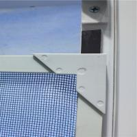 Anti Mosquito DIY Bugout magnetic fly screens for windows with lock Manufactures