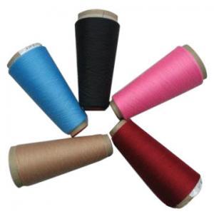 China Dyed Polyester Spun Yarn on sale