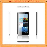 7'' MTK6572 narrow side android tablet phone with WCDMA850/2100 and GSM 850/900/1800/1900 Manufactures