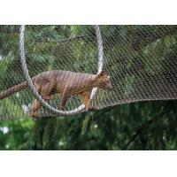High-strength Stainless Steel Wire Rope Mesh Fence for Animal Cages Manufactures