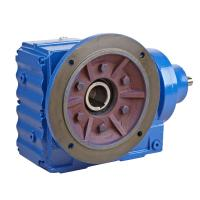 Electric Sew Helical Bevel Gear Motor With Torque Arm , KF77 Industrial Gearbox Manufactures
