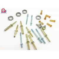 China Specified Color Micro Threaded Components Plating And Polishing Finish on sale