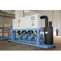 China Refcomp Paralleled Industrial Refrigeration Unit High Strength Easy Installation on sale