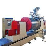 Diameter 600mm Wedge Wire Screen Welding Machine , Wire Mesh Making Machine Manufactures