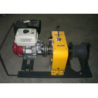 8 Tons Gasoline Engine Powered Winch   Equipment With ISO 9001:2008 Certificate Manufactures