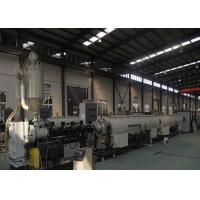 China Pipe Automatic Cutting Plastic Extrusion Equipment Chip Less / Non - Scrap With Planetary on sale