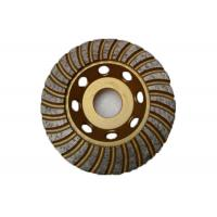 4.5 Inch Diamond Cup Grinding Disc With Arbor 22.23mm High Performance Manufactures