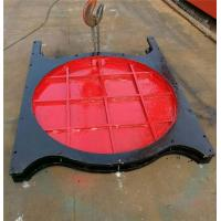 Steel Thimble Mounted Sluice Gate Round Shape For Rivers Sluices Manufactures