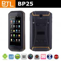 IP67 handheld bluetooth nfc cell phone BP25 Manufactures