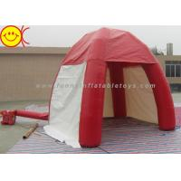 China Mini 3m Inflatable Dome PVC In Red Tent With Door For Outdoor Lawn Event wholesale