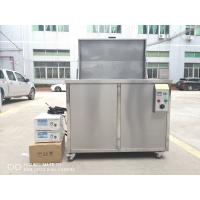 Engine Block / Sonic Engine Parts Oil Filter Cleaning Machine 360l 3600w 40KHZ Manufactures