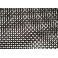 1200x2000MM Stainless Steel Wire Mesh With Black Color For Window Mesh Screen Manufactures