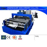 Galvanized Steel Coil Roof Panel Roll Forming Machine Coil Slitting Machine 15m/Min Manufactures