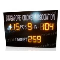 Multi Functional Portable Cricket Scoreboard Electronic UV Protection Board Manufactures