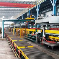 Automated Sand Molding Machine Labour Saving Low Failure Rate For Foundry Plant Manufactures