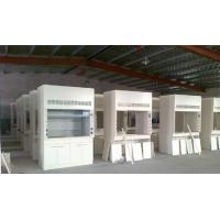 Ventilated Table Steel Table Exhaust Cabinet , Full Steel Fume Hood All Steel Manufactures
