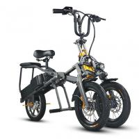 Folding Portable Electric Tricycle Bike 350W 48V Motor LCD Display for sale