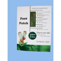 China Detox Foot Patch with packing on sale