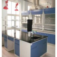 Modern School Chemical Laboratory Furniture Double Skinned To Reduce Noise Level Manufactures