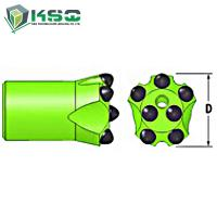 H25 - H-thread Button Drill Bit Dia.35mm-57mm Drill Bit For Mining Manufactures