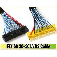 LVDS Cable FIX-30P-S8 1.0mm Pitch 30-Pins Dual 8-bit for LCD Controller to Panel Manufactures