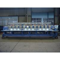 9 Needle 12 Head Embroidery Machine , Commercial Monogramming Machine